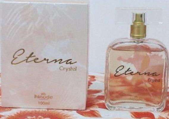 Perfume Eterna Crystal Hinode 100ml Feminino Ótima Fixação