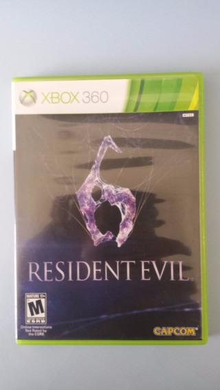 Jogo Resident Evil 6 Xbox 360 Original