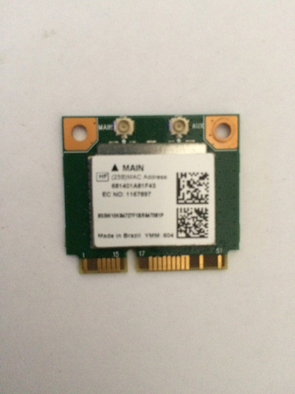 Placa Mini Pci Wireless Aw-nb159h Rtl8723be