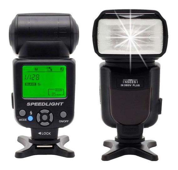 Flash - Inseesi 560iv - Speedlite Para Canon - Nikon