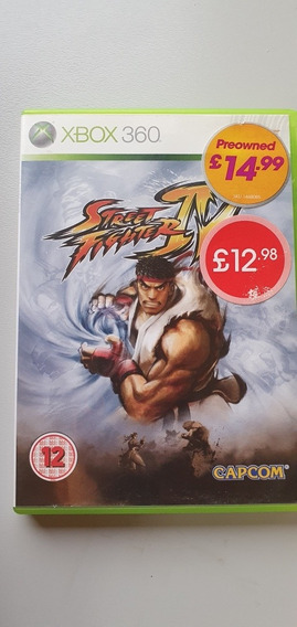 Street Fighter Iv | Xbox 360 | Original | Europeu Pal