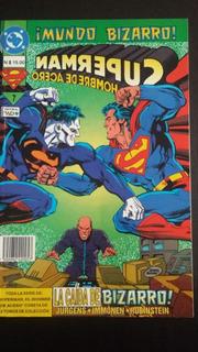 Superman Mundo Bizarro La Caída De Bizarro