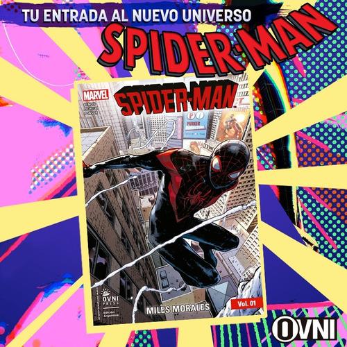 Imagen 1 de 2 de Cómic, Marvel, Spider-man Vol. 1: Miles Morales Ovni Press
