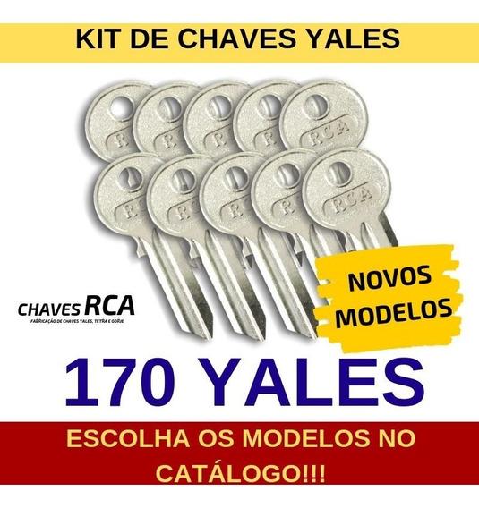 Kit De 170 Chaves Yales Virgens Para Cópia - Rca