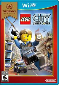 Nintendo Wii U Juego Lego City Bajo Cubierta Nintendo