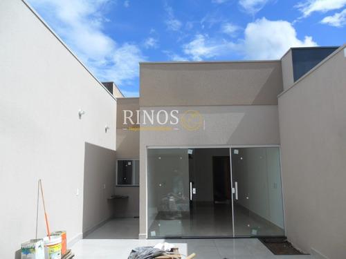 Imagem 1 de 9 de Casa Padrão Em Franca - Sp - Ca0318_rncr