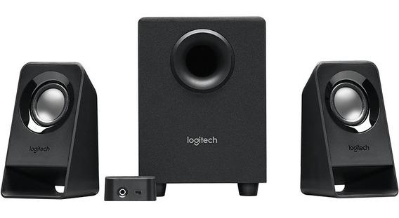 Bocinas Logitech Z213 2.1 Canales Subwoofer 3.5m