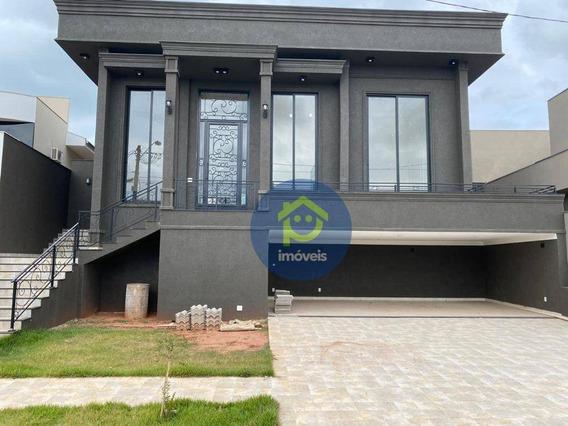 Casa Com 4 Dormitórios À Venda, 360 M² Por R$ 1.750. - Parque Residencial Damha Vi - São José Do Rio Preto/sp - Ca2654