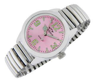 Reloj Montreal Mujer Ml543 Malla Elastizada Envío Gratis