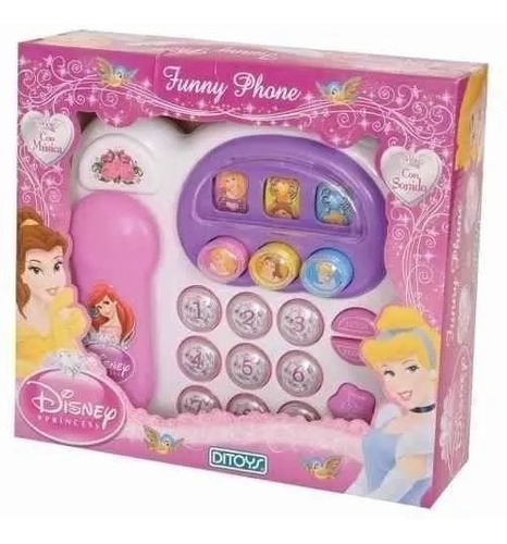 Princesas Funny Phone
