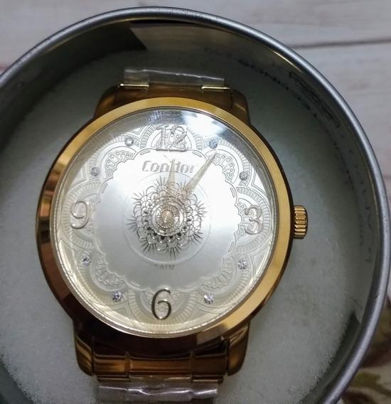 Relógio Condor Dourado Feminino