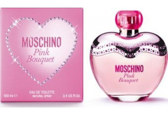 Pink Bouquet De Moschino Eau De Toilette 100 Ml