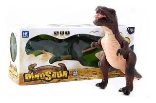 Dinosaurio Grande De Juguete Camina Luces Sonido Piu Online