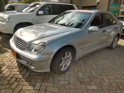 Mercedez Benz C 180k Modelo 2006 Gris Plata Automatica