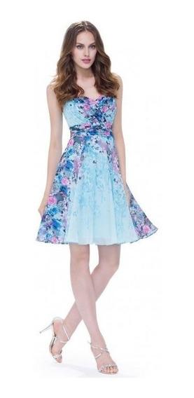 Vestido Estampado Floral Talla 12