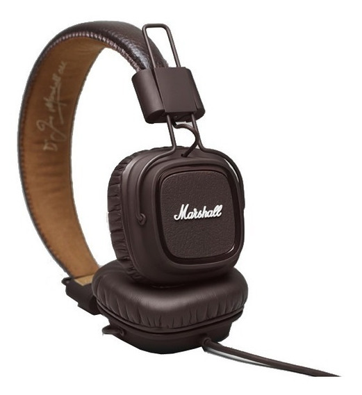 Fone Headphone Marshall Major Brown Original
