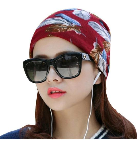 Moda Mujer Estampado Estampado Sombrero Tejido Gorros Gorros