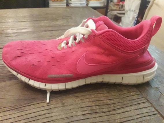 Zapatillas Nike Fuccia Gamuzadas