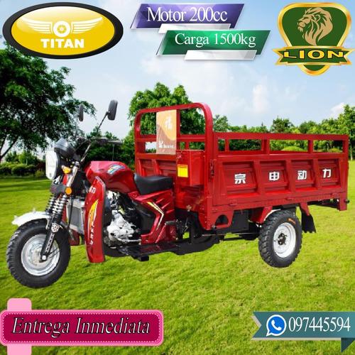 Triciclo Utilitario De Carga Titan Lion 0 Km