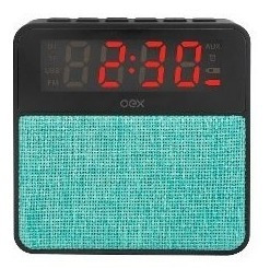 Radio Relogio C/ Bluetooh Fm Despertador Cs-mt3bt Exbom