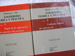 J8 Enfermeria Teorica Y Practica- Henderson Y Nite- 4 Vols