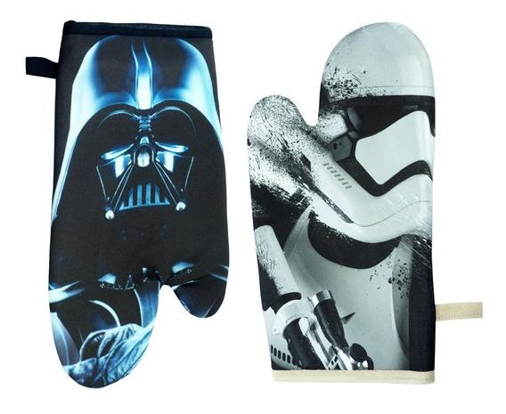 Luva Termica De Cozinha Darth Vader E Stormtrooper Star Wars