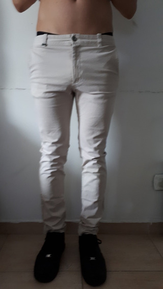 Pantalon Chupin Ona Talle 40 Gabarina Elastizada