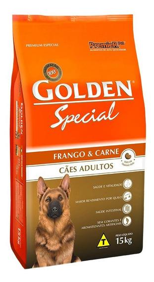 Ração Golden Special Premium Especial cachorro adulto frango/carne 15kg