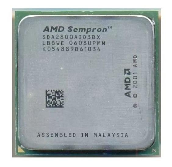 Processador 1600mhz Amd Sempron 64 2800+ Sda2800aio3bx