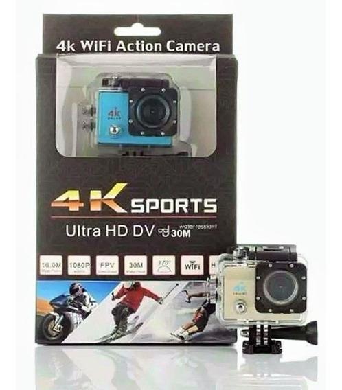 Câmera Action- Cam 4k Wi-fi Estilo Go Pro