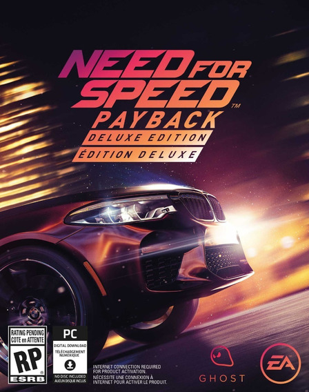 Need For Speed: Payback - Mídia Digital - Pc + Brinde