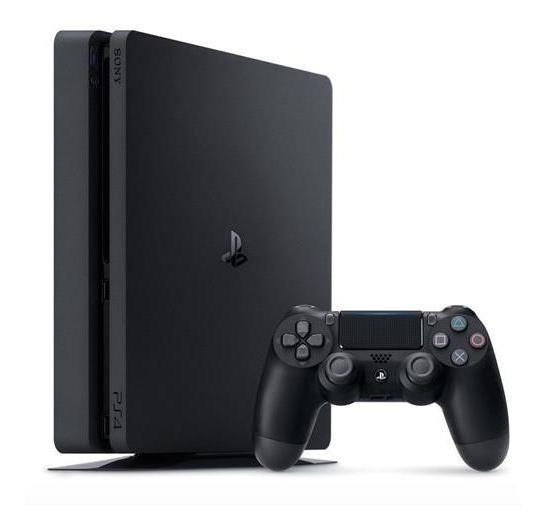 Sony Playstation 4 Slim 500gb Standard Jet Black Seminovo