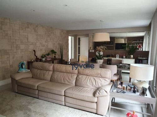 Apartamento Com 4 Dormitórios À Venda, 219 M² Por R$ 1.060.000,00 - Vila Ema - São José Dos Campos/sp - Ap2377