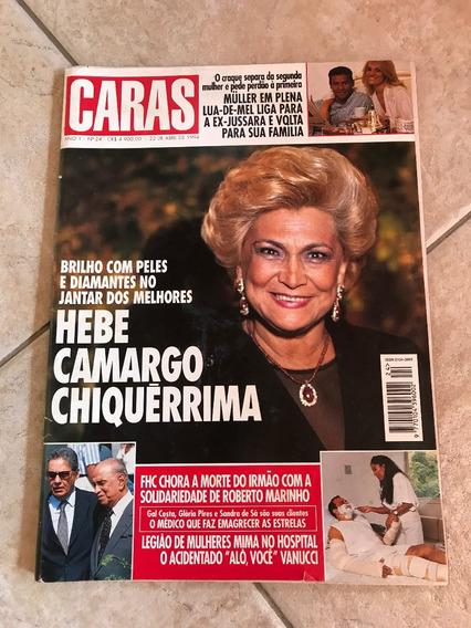 Revista Caras 24 Hebe Camargo Shcumacher Lizandra Souto D500