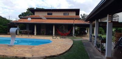 Chácara Com 3 Dormitórios À Venda, 1560 M² Por R$ 950.000 - Loteamento Chácaras Vale Das Garças - Campinas/sp - Ch0397