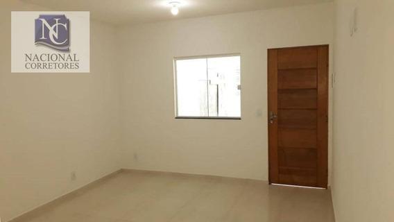 Sobrado Com 3 Dormitórios À Venda, 110 M² Por R$ 390.000 - Parque Jaçatuba - Santo André/sp - So2124