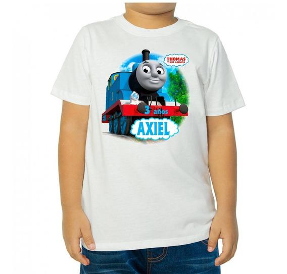 Thomas Y Sus Amigos - 10 Playeras Personalizadas Para Fiestas Infantiles