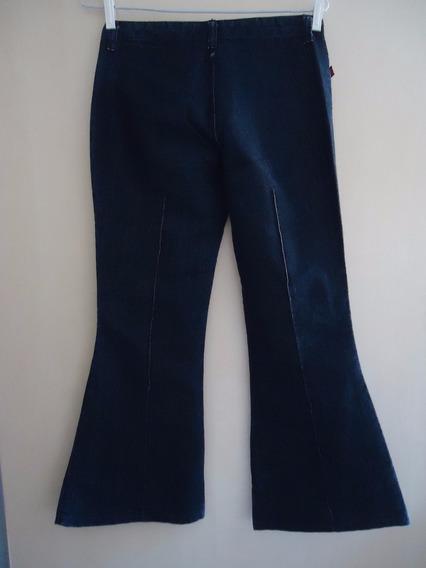 Calça Jeans Feminina Flare 36 Seminova