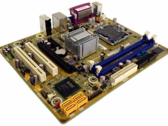 Placa Mae Pos-pi41bo Lga 775 Ddr3 Dual Core E5500 2.80 Ghz