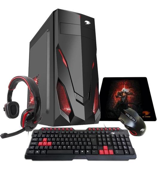 Pc Gamer G-fire Htg-315 Athlon 200ge 8gb Pv Vega 3 2gb Tb