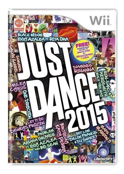 Just Dance 2015 Wii | Mídia Física Original