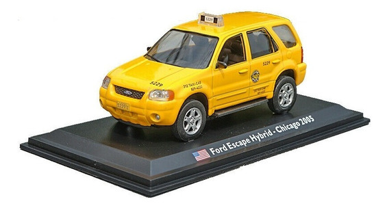 Ford Escape Hybrid Taxi Chicago 2005 1/43