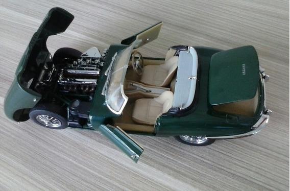 1:24 Franklin Mint 1961 Jaguar E-type Roadster Racing