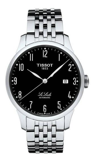 Relógio Tissot Clássico Le Locle Automático T41148352b Preto