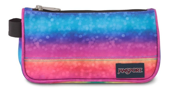 Zonazero Cartuchera Jansport Medium Pouch Rainbow Sparkle