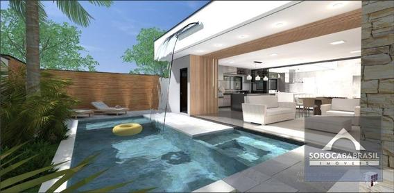 Casa Com 3 Dormitórios À Venda, 260 M² Por R$ 1.400.000 - Alphaville Nova Esplanada Iv - Votorantim/sp Próximo Ao Shopping Iguatemi E Colégio Objetivo - Ca0095
