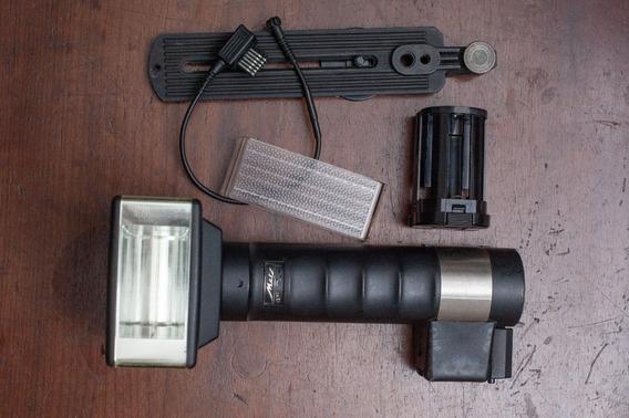 Metz 45 Cl-1 Completo. 2x Mais Luz Que Flash Canon Ou Nikon