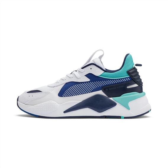 Tenis Puma Rs-x Hard Drive Blanco/azul 369818 02