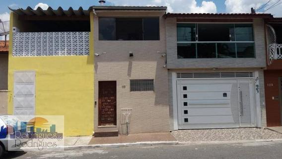 Sobrado Com 4 Dormitórios À Venda, 450 M² De A/c Por R$ 550.000 - Vila Carmosina - São Paulo. - So0055