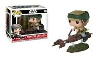 Funko Pop! Star Wars Princess Leila With Speeder Bike - Mike